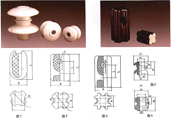 低压线路用碟式瓷绝缘子和拉紧瓷绝缘子